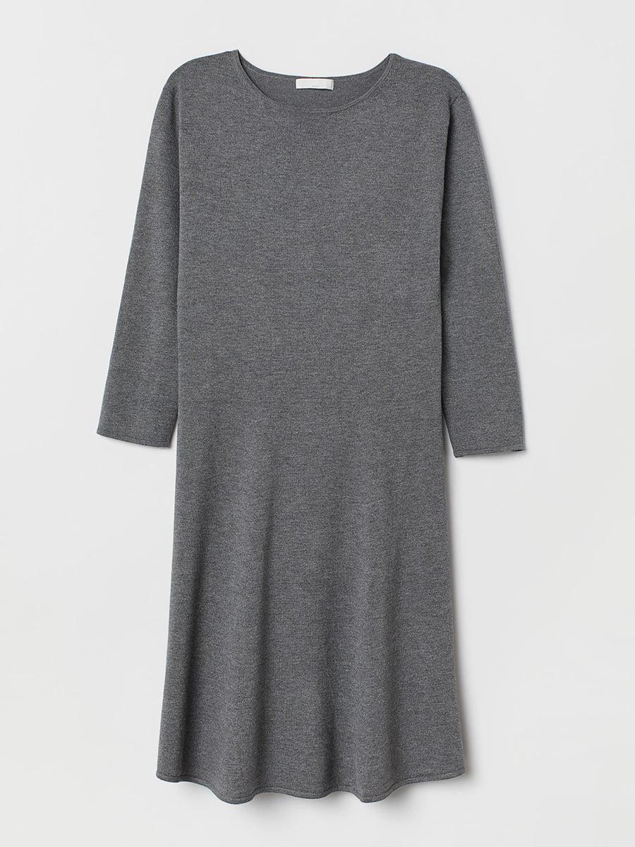 Платье серое | 5497306
