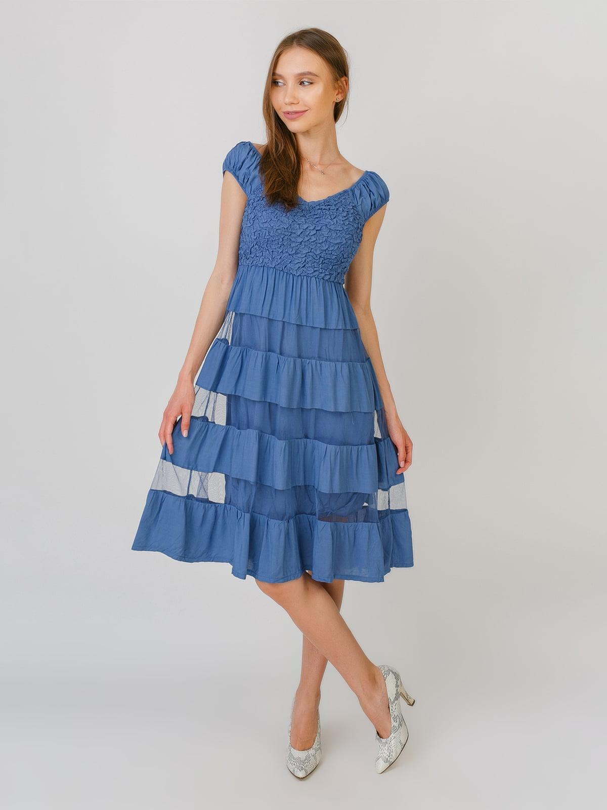 Платье синее | 5491804