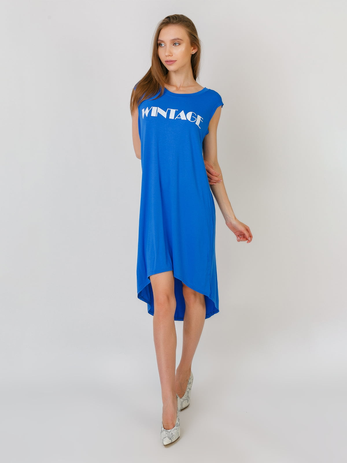 Платье синее | 5491786