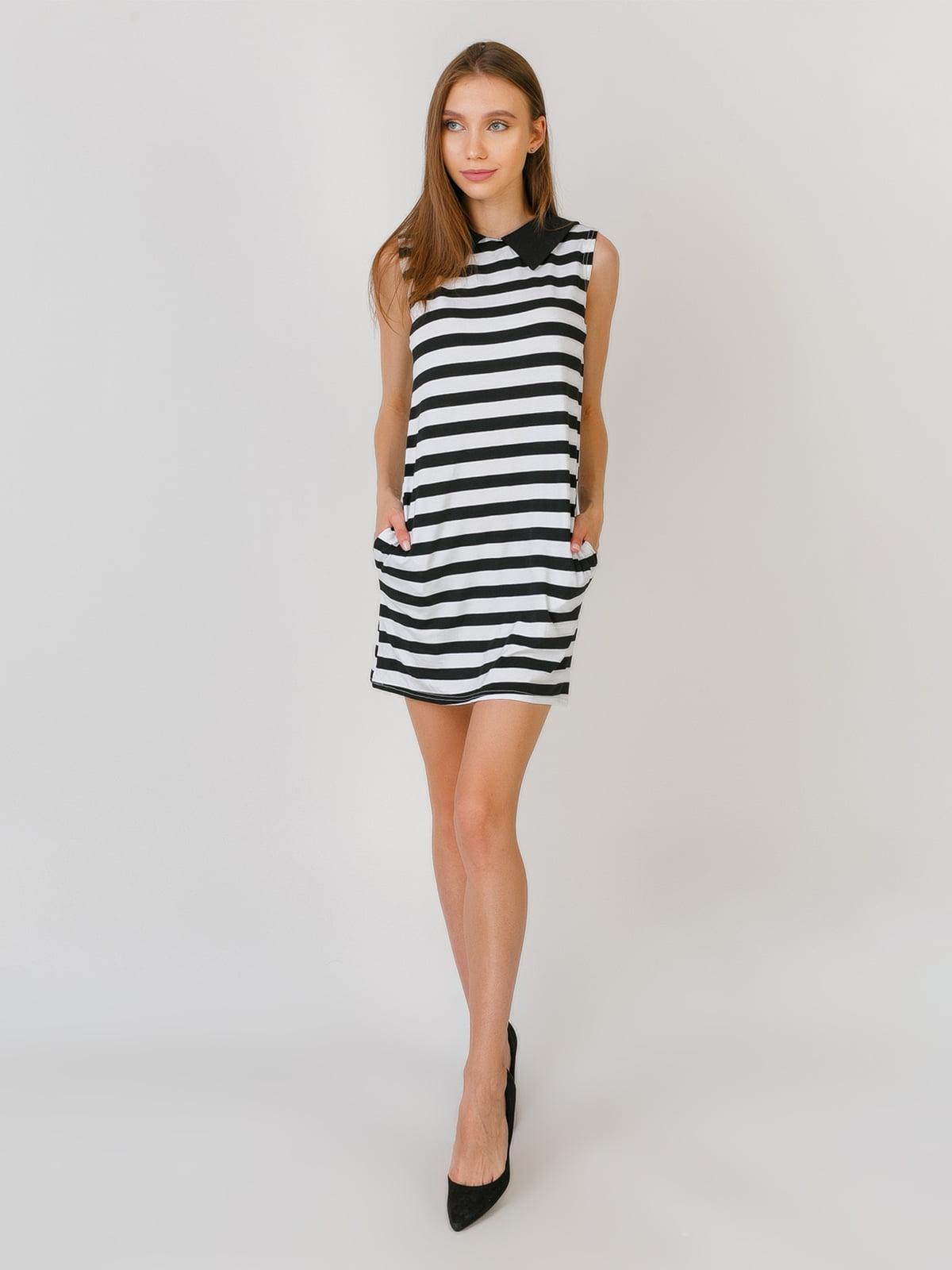 Сукня чорно-біла | 5491789