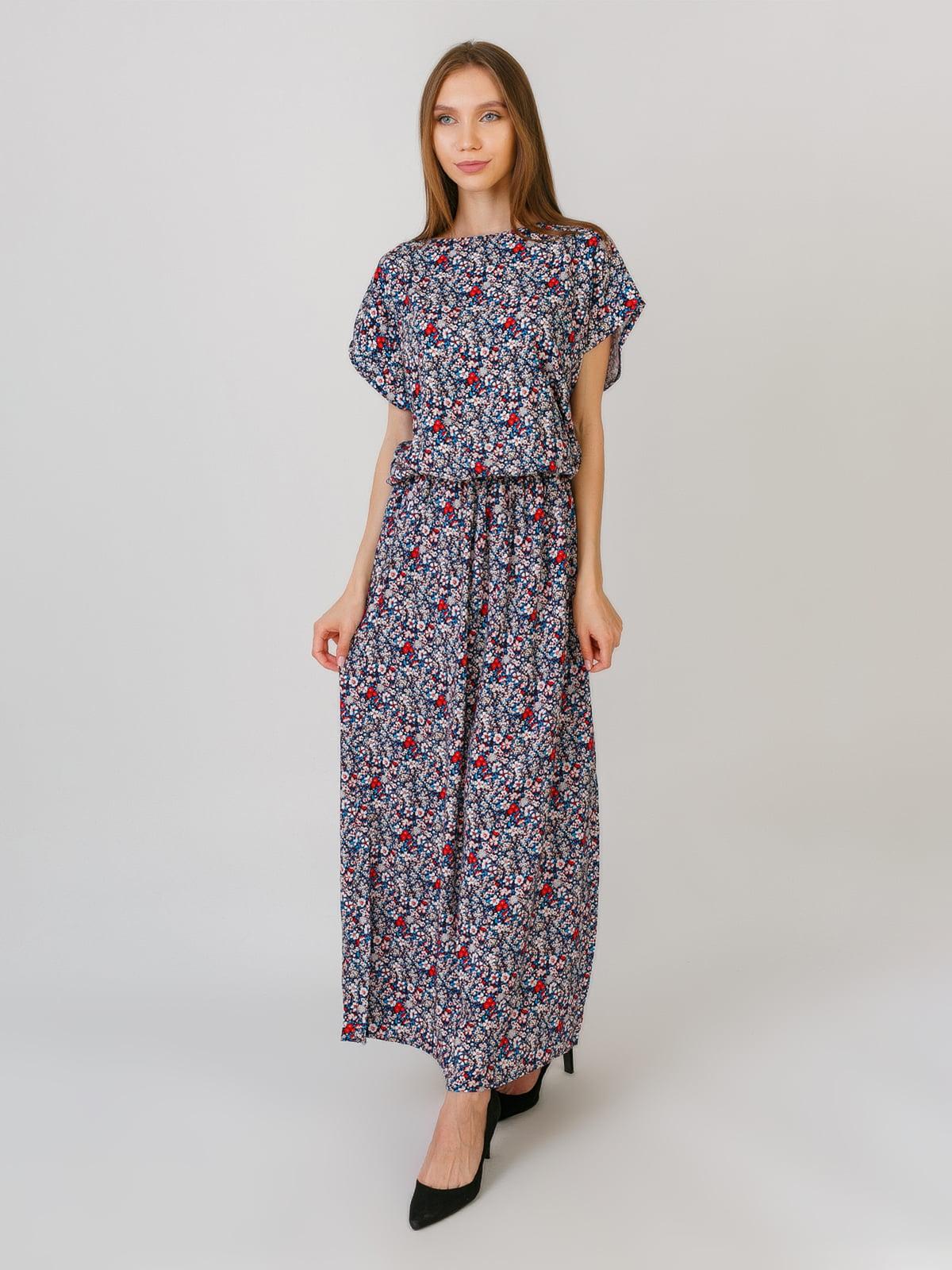 Платье синее   5491813
