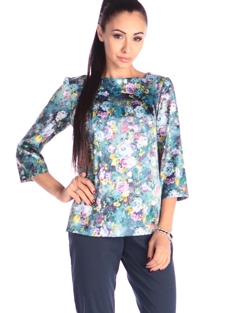 Блуза в квітковий принт   5447294