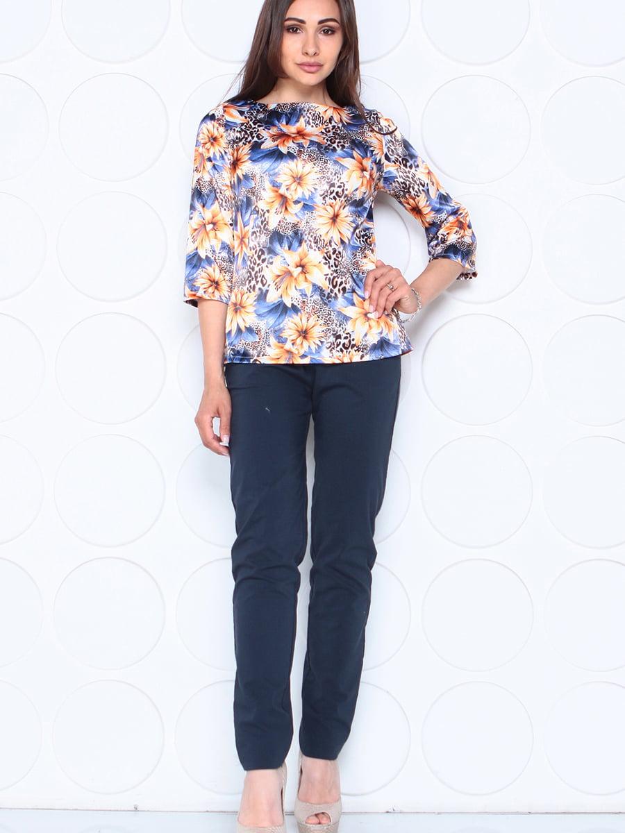 Блуза в квітковий принт | 5447295
