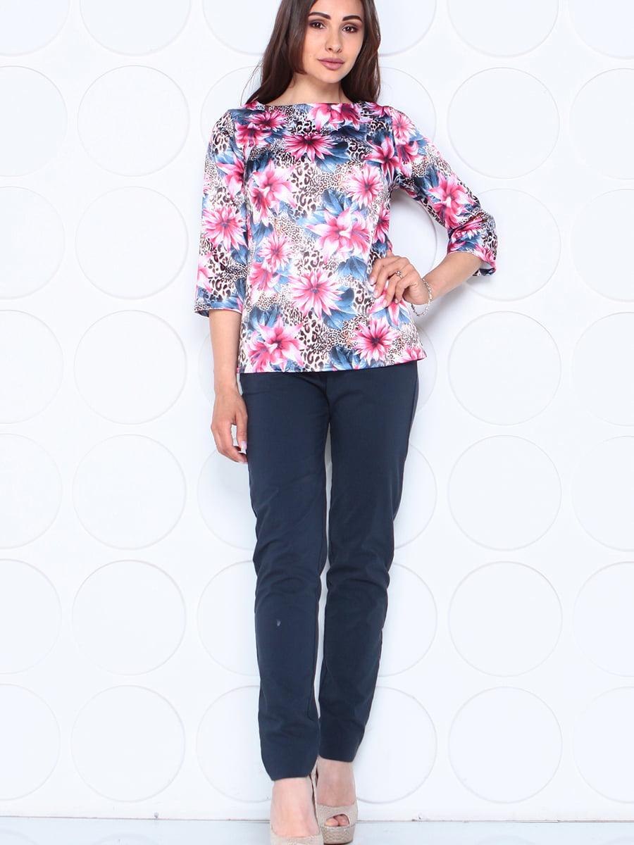 Блуза в квітковий принт | 5447296
