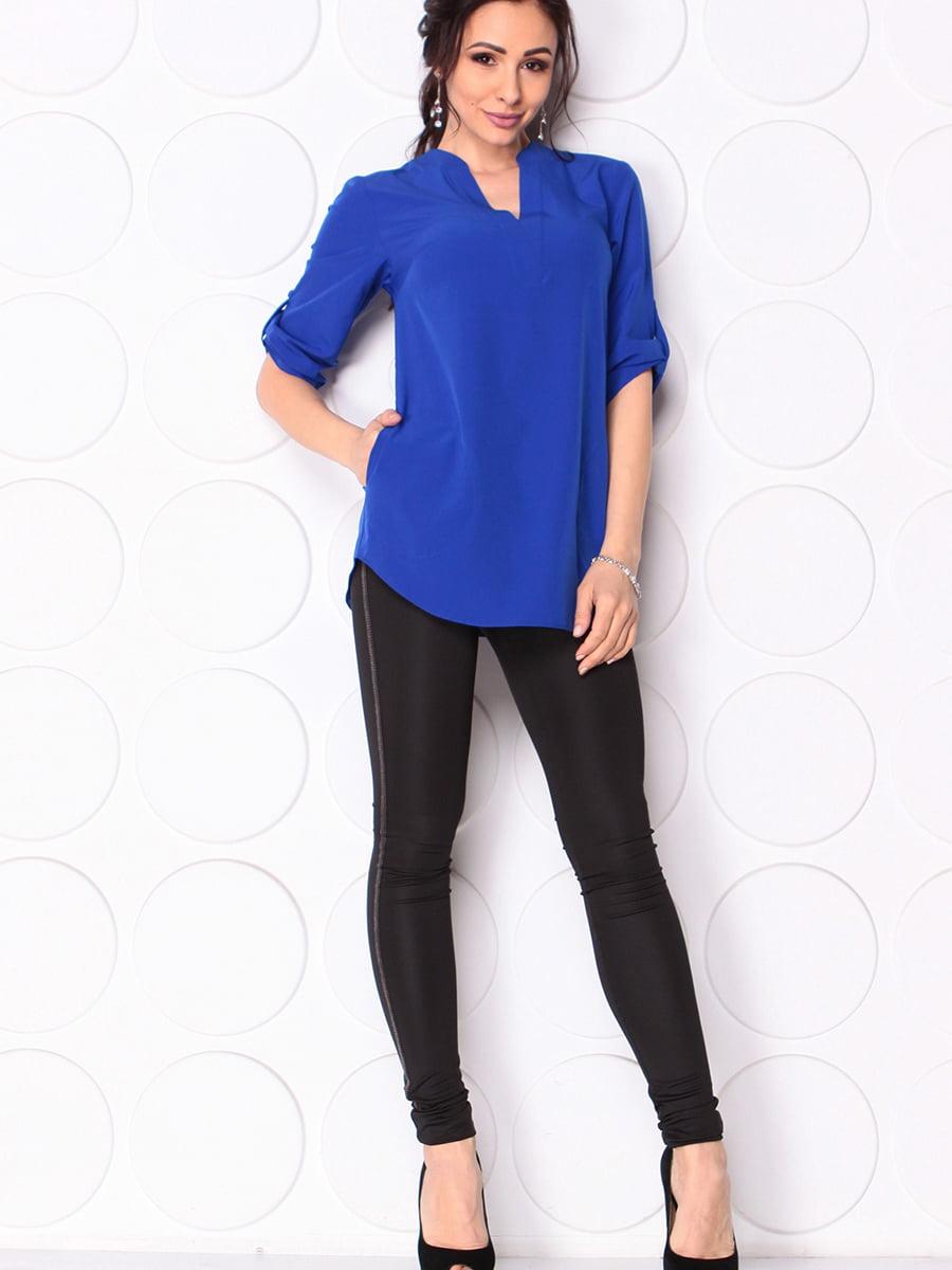 Блуза кольору електрик | 5497620