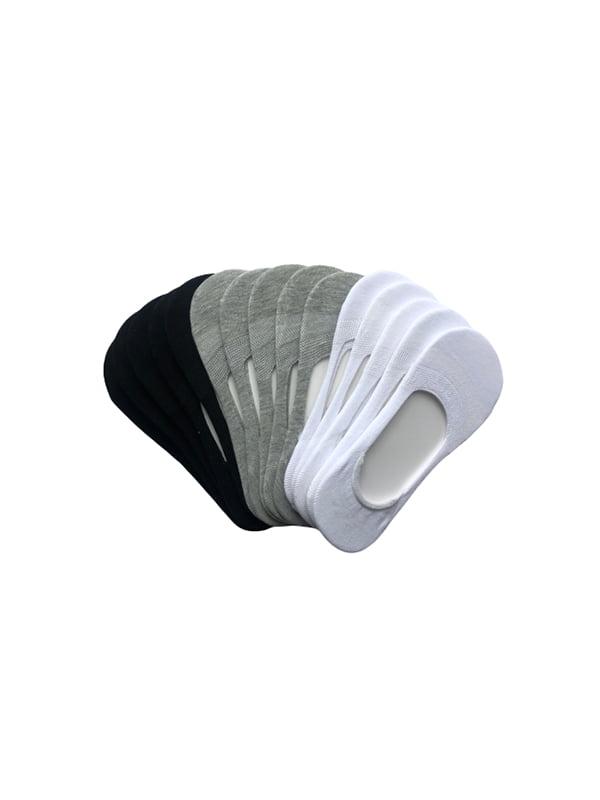 Набор женских носков следы (15 пар) | 5499240