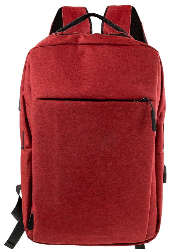 Рюкзак бордовий   5499450