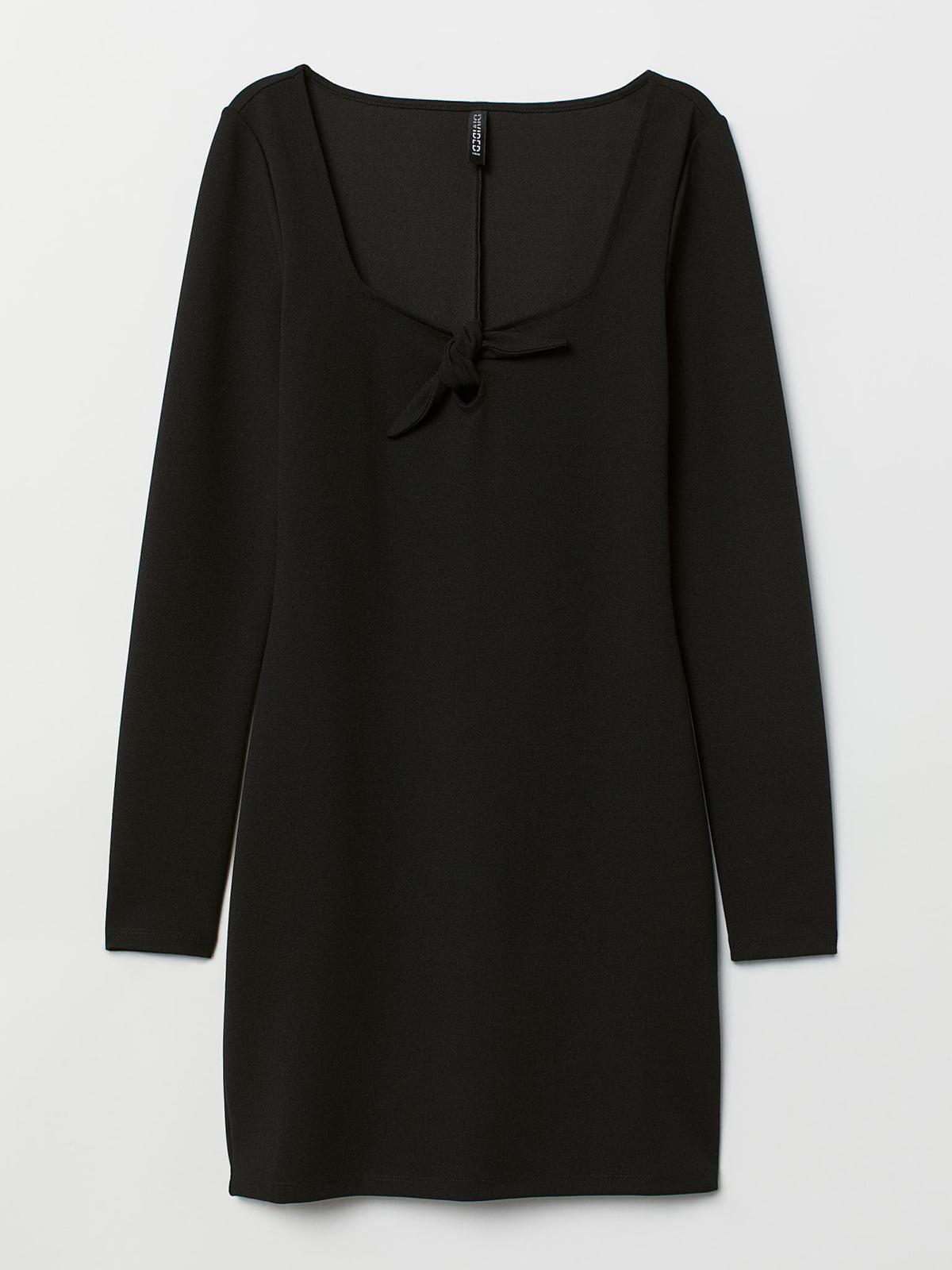 Платье черное   5500504