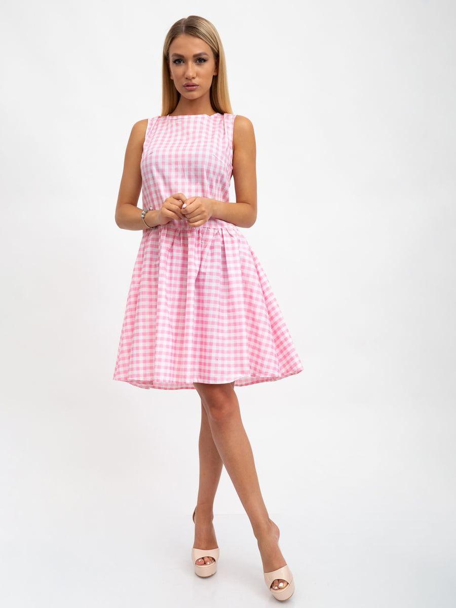 Платье в клетку | 5501013