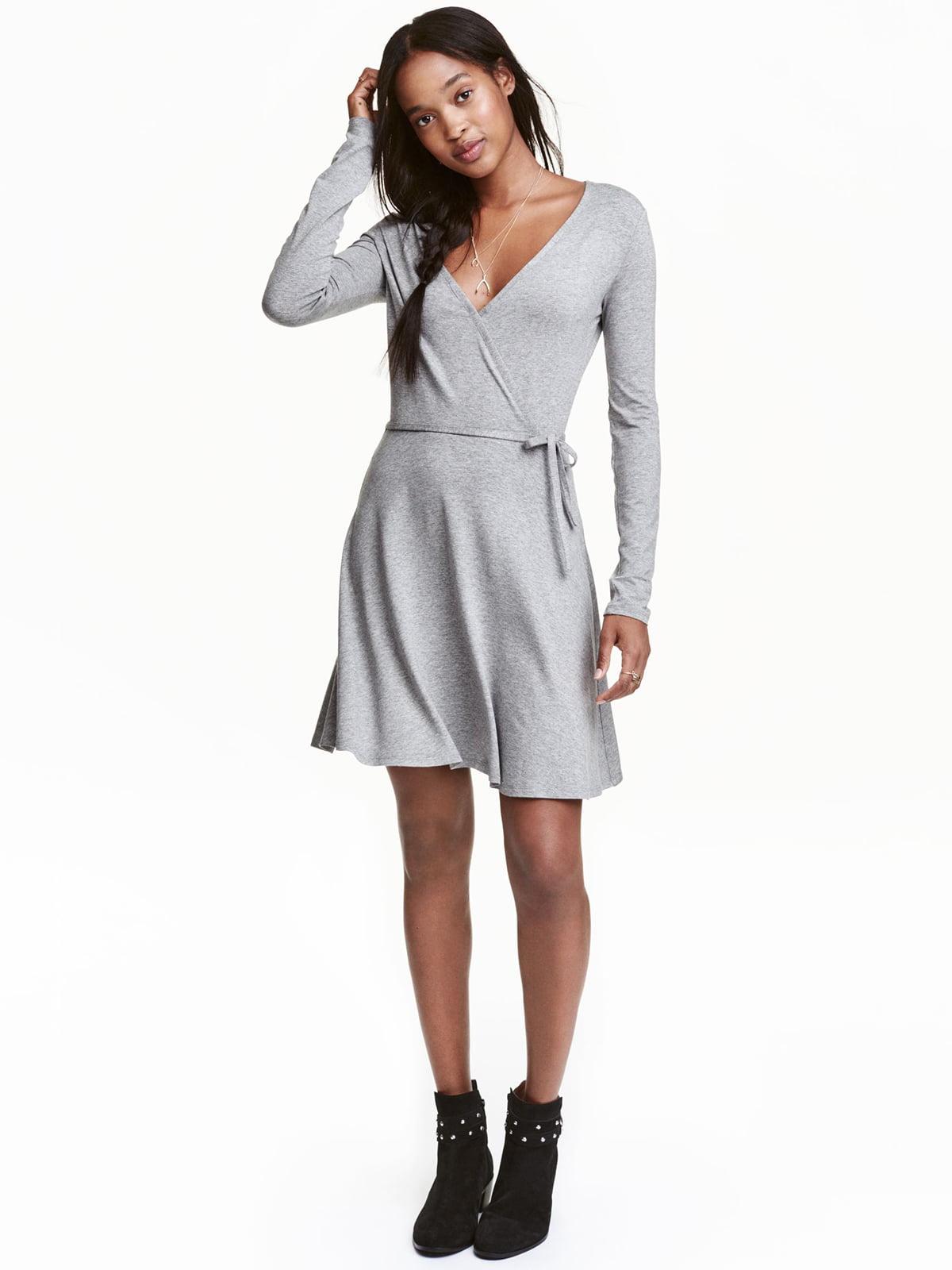 Платье серое | 5501829