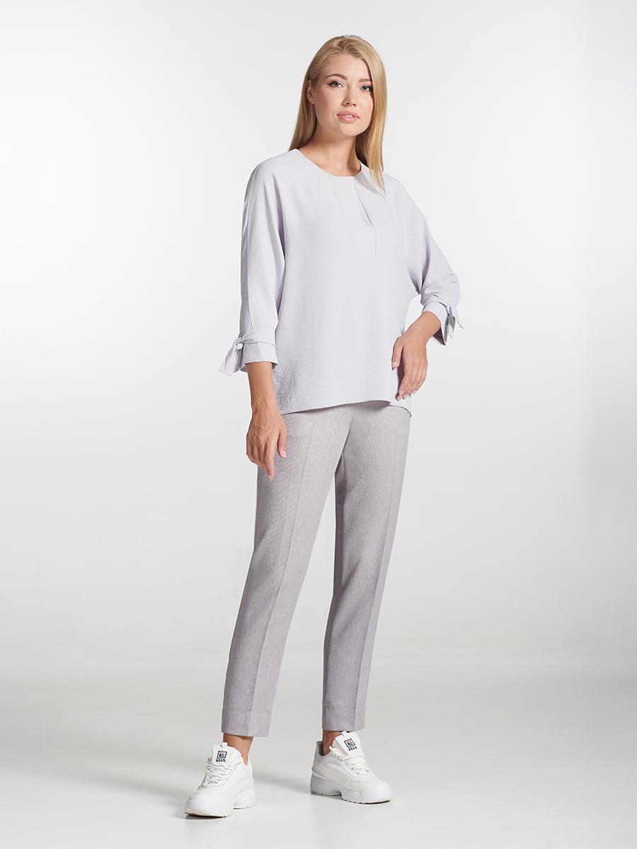Блуза серая | 5306085