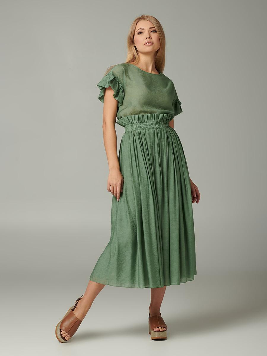 Блуза зелена | 5441274