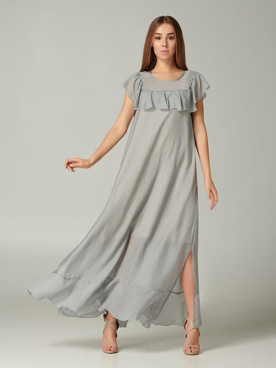 Платье серое | 5441358