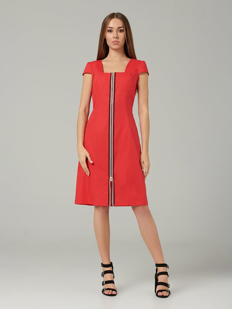 Платье красное | 5441392