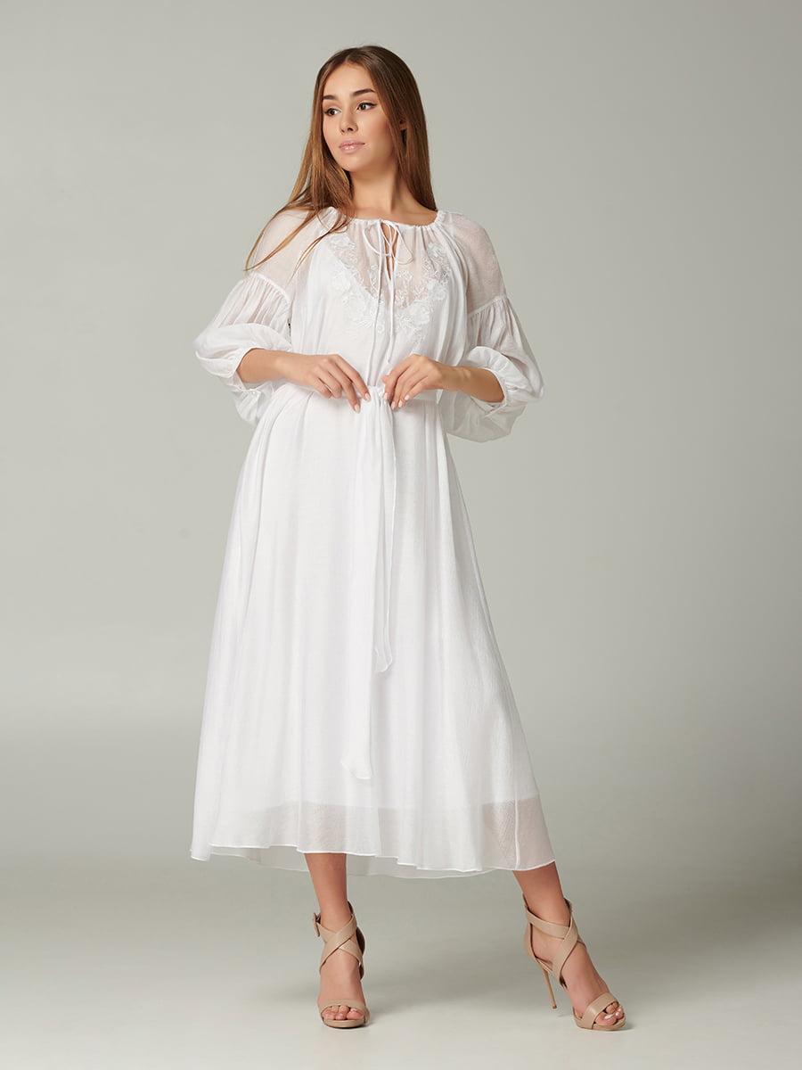Платье белое   5441394