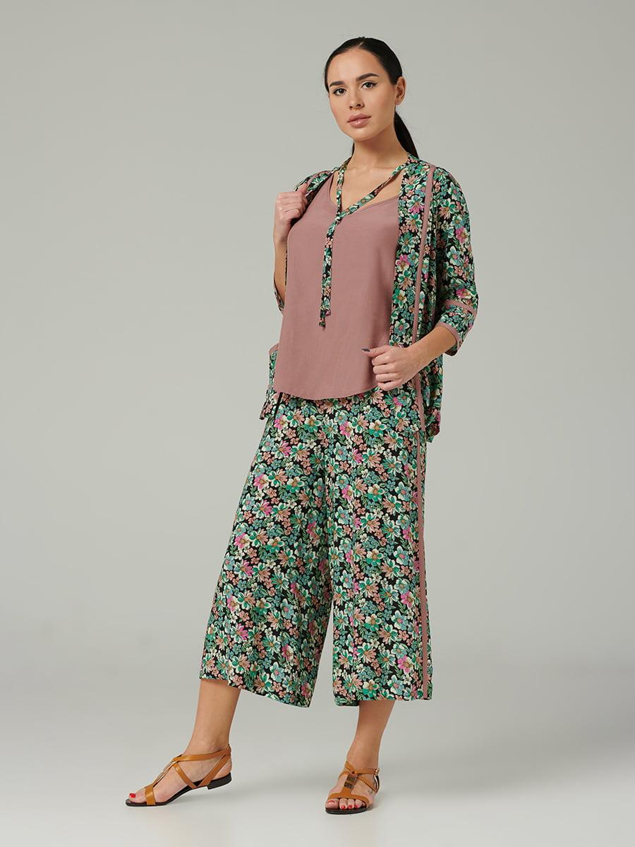 Костюм: кардиган, топ и брюки | 5502767