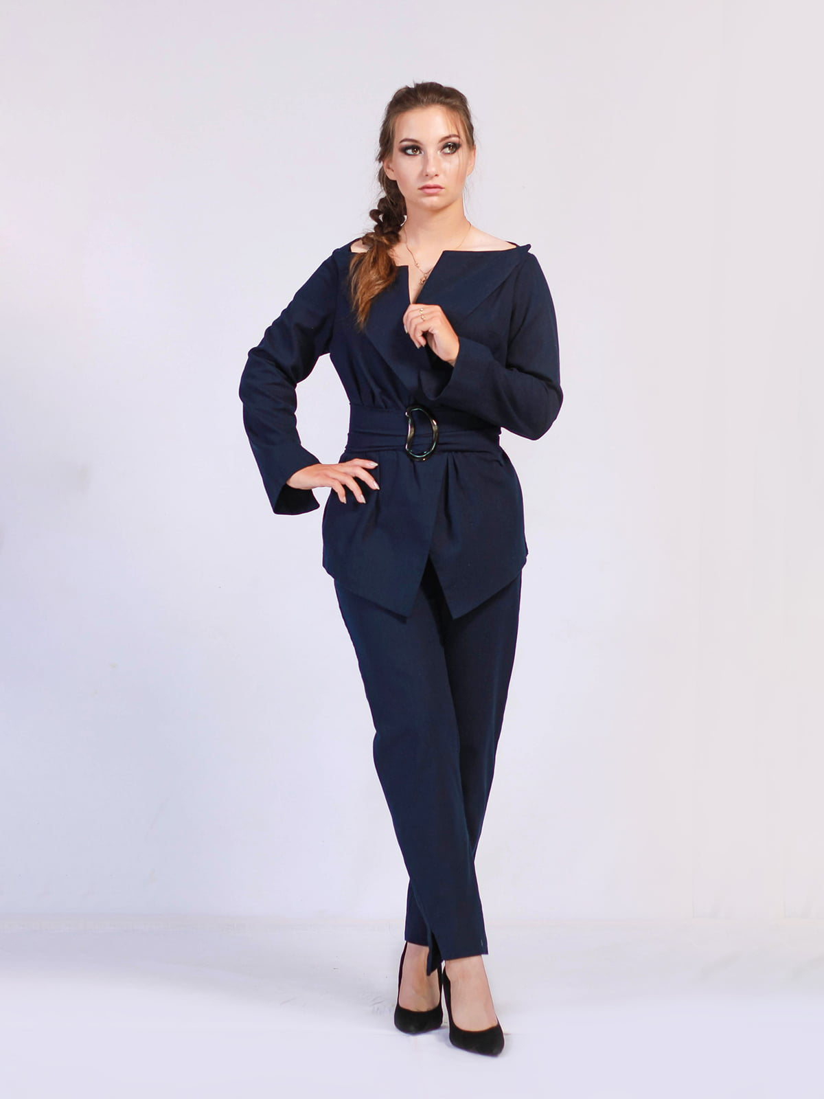 Костюм: жакет і штани | 5503838