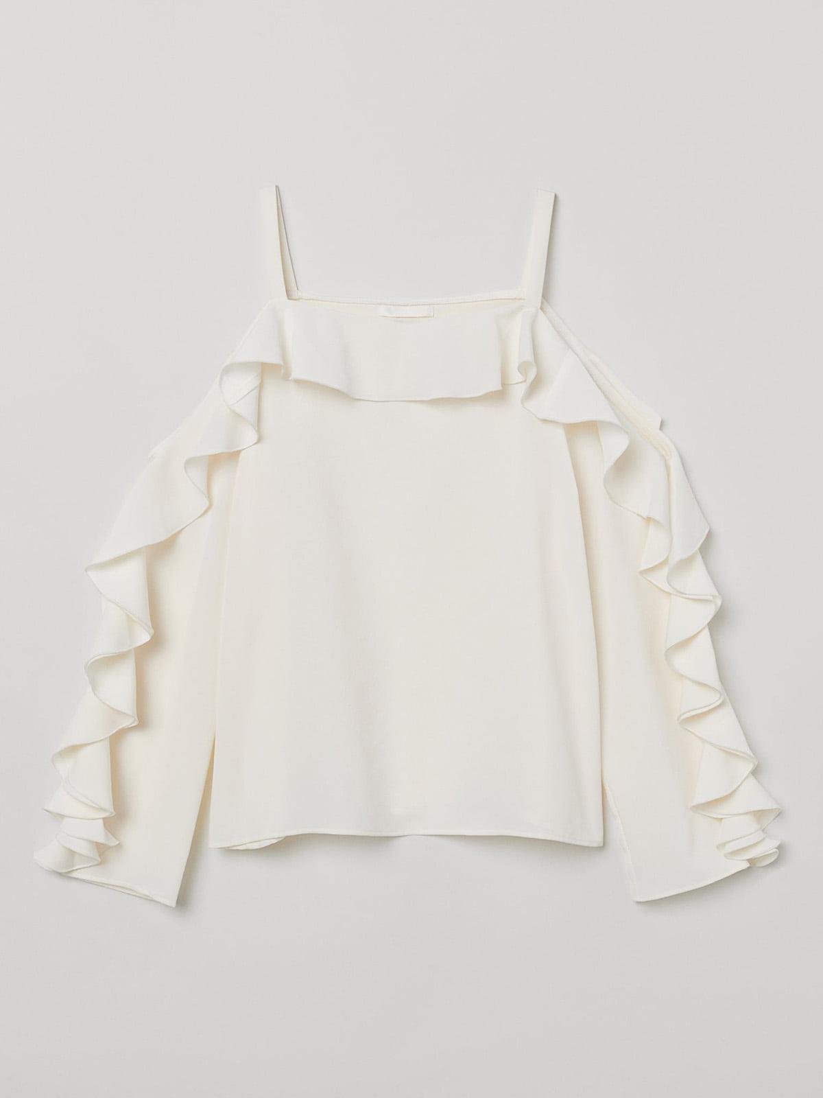 Блуза кремового кольору   5508870