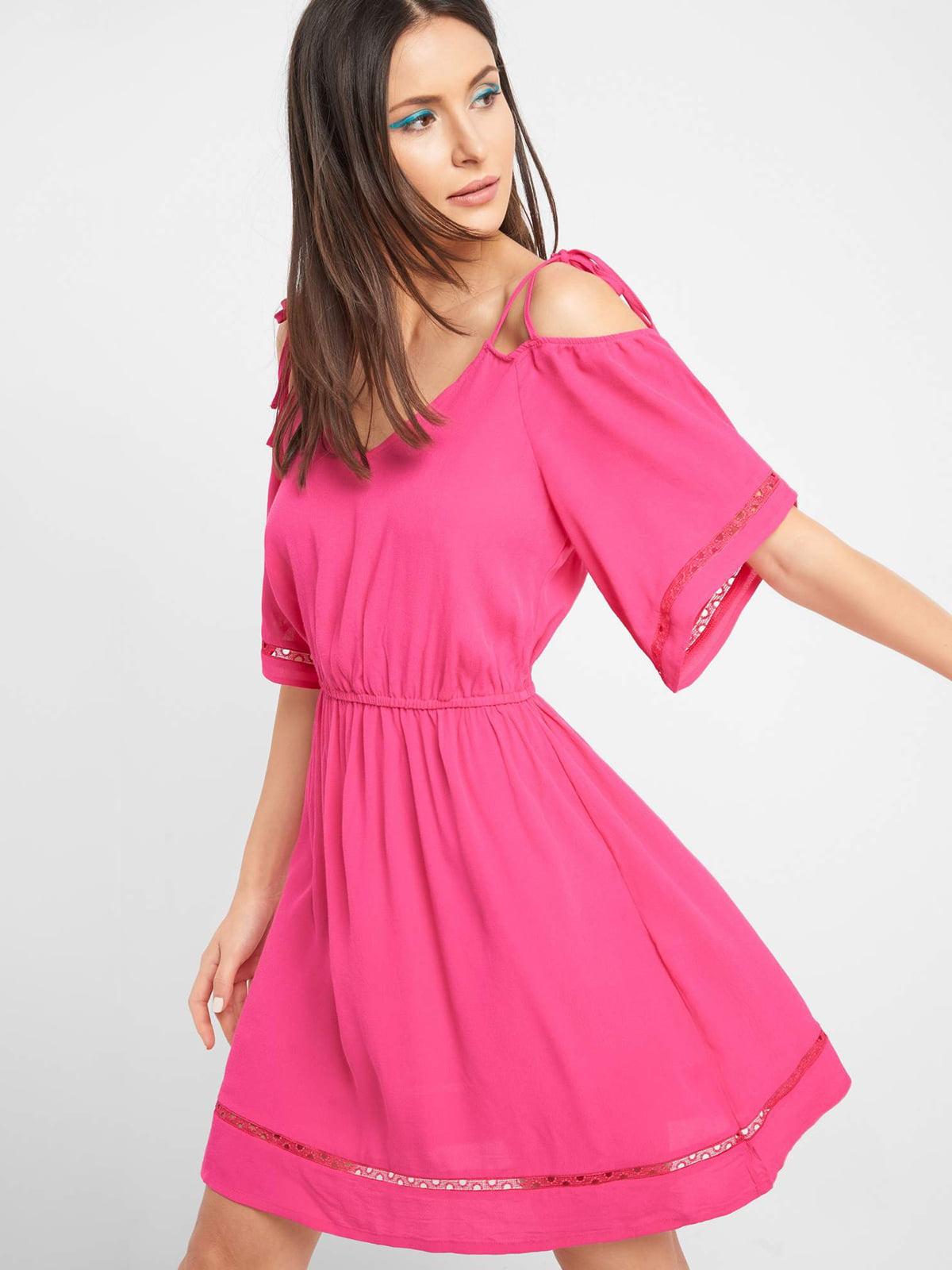 Платье ярко-розовое | 5508017