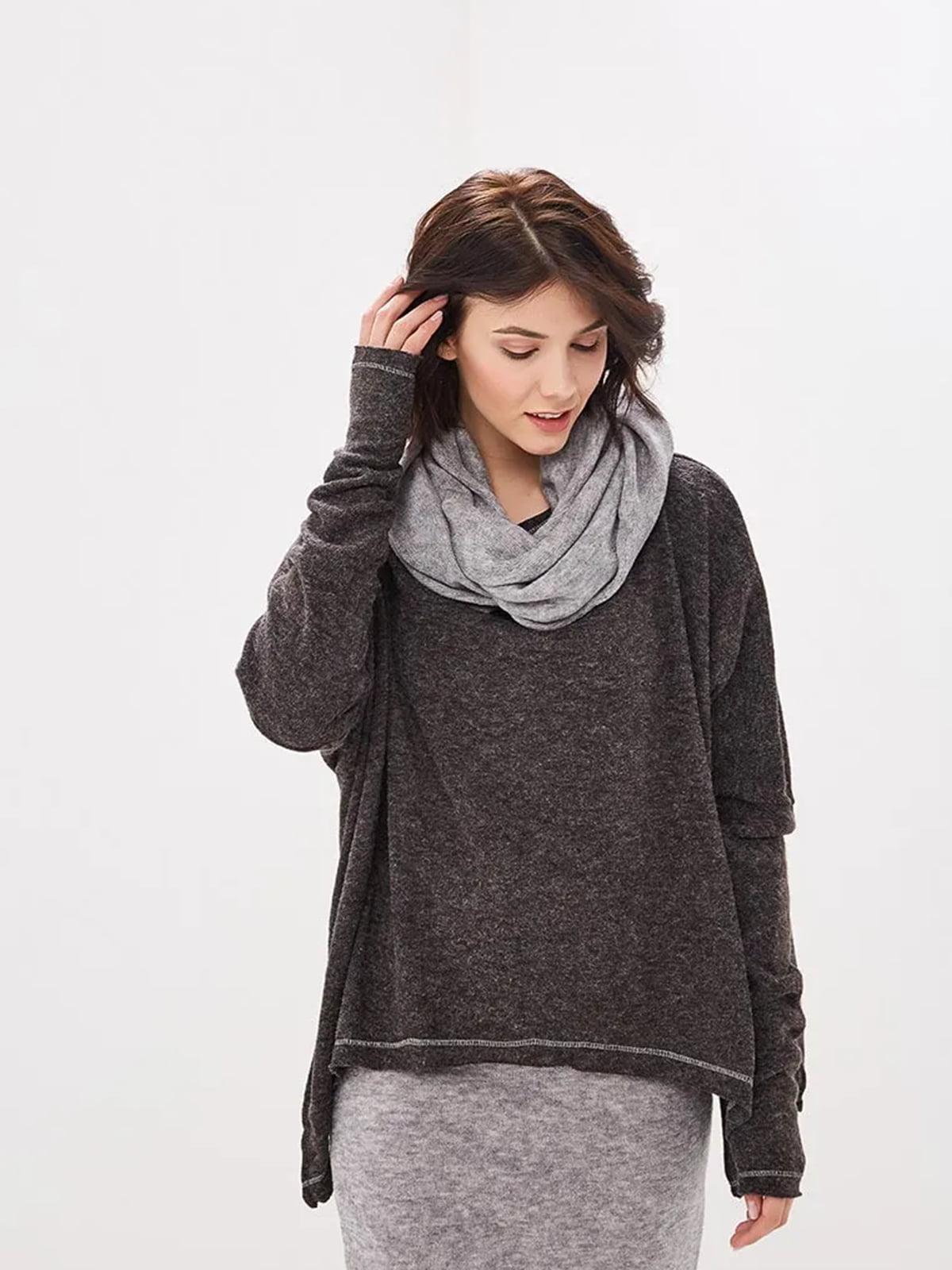 Костюм: юбка, джемпер и шаль | 5509961