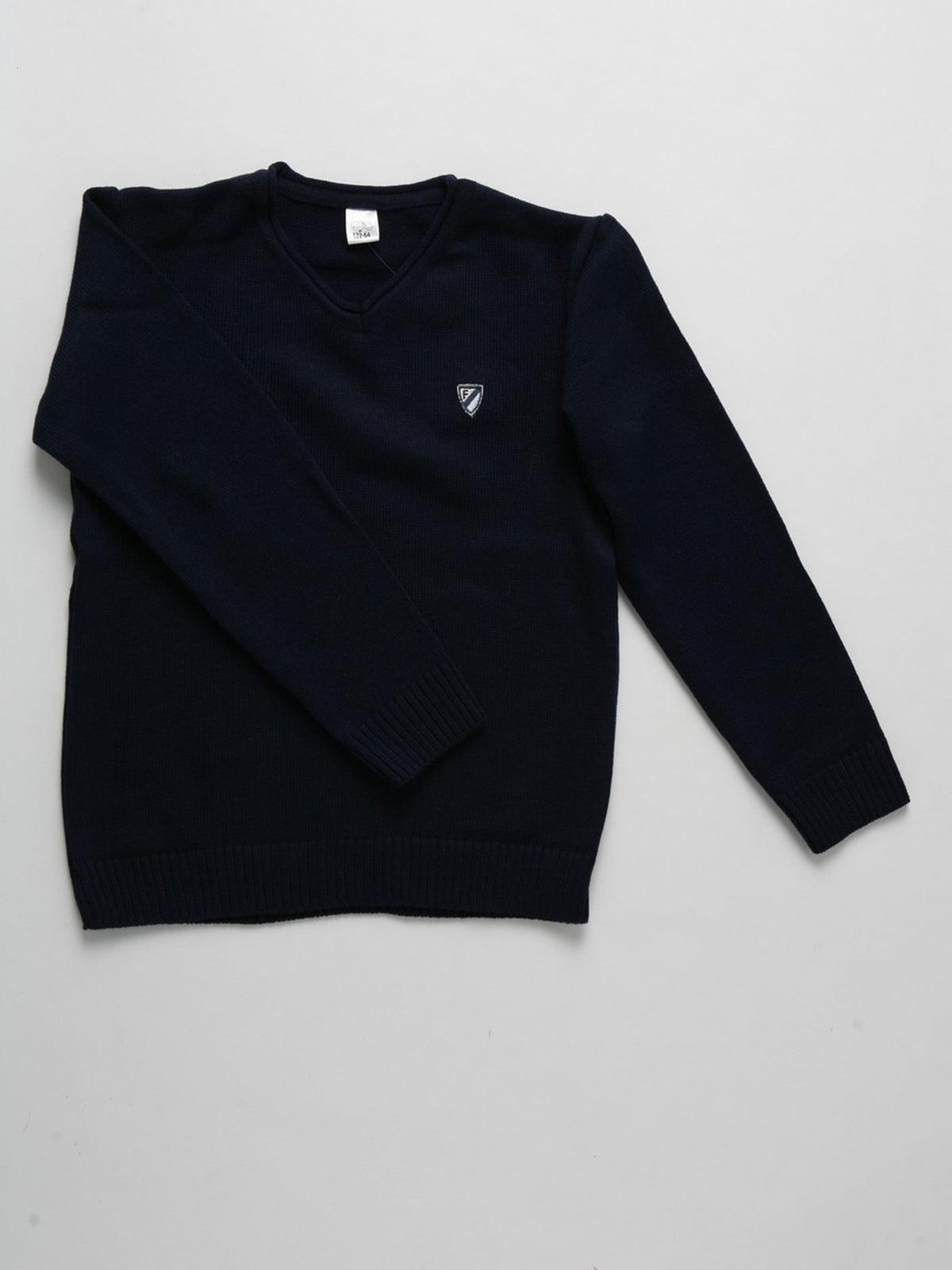 Пуловер синій | 5513812