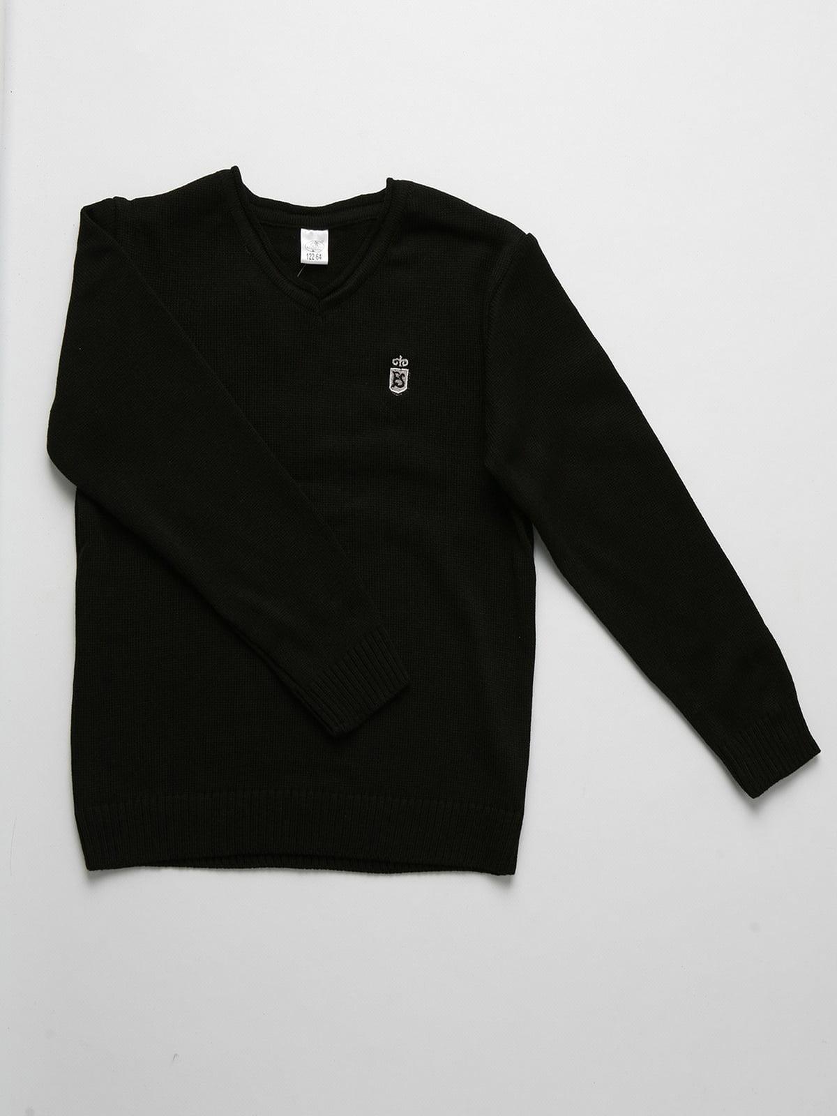 Пуловер чорний | 5513814