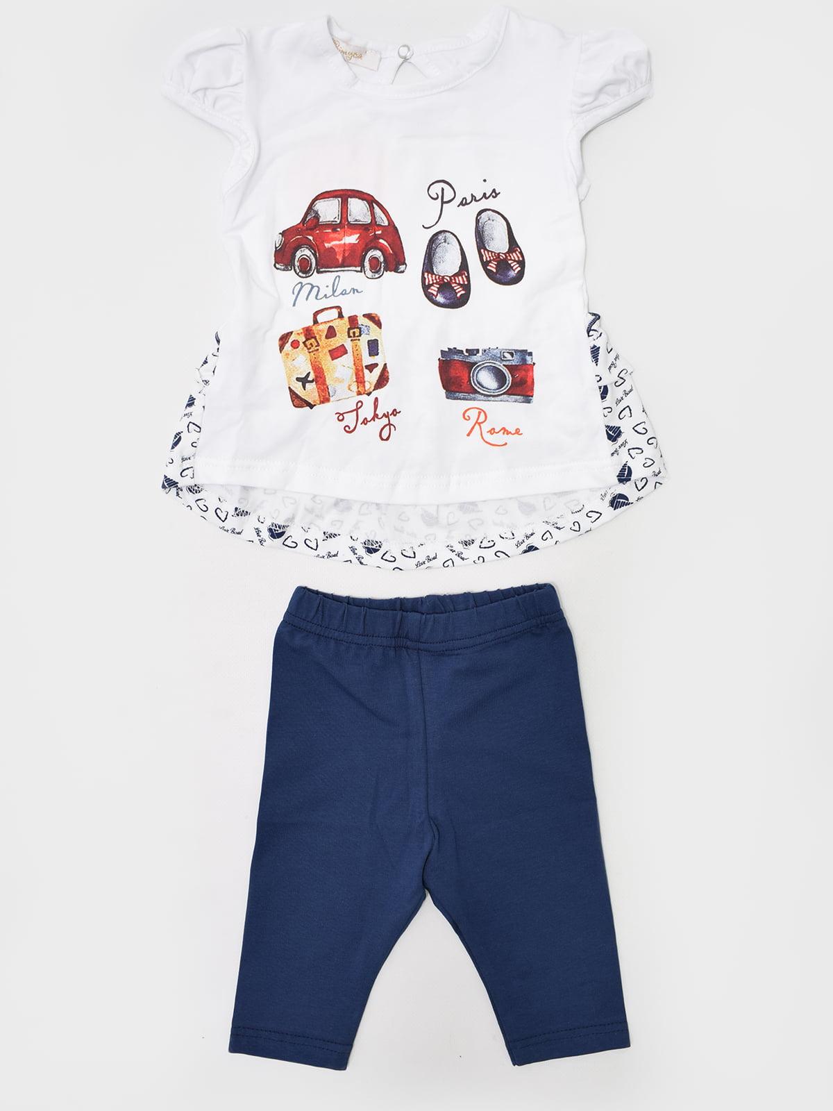 Комплект: футболка та бриджі | 5513864