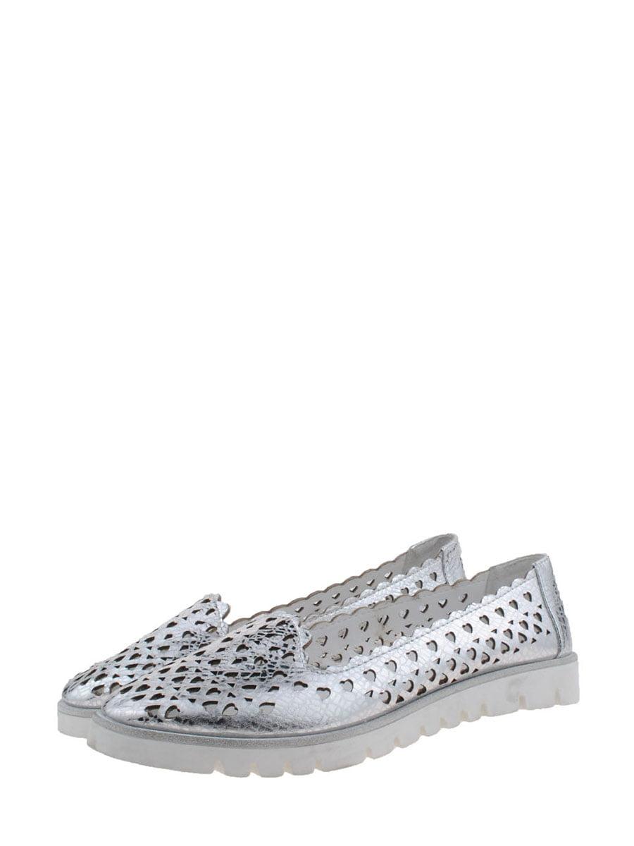 Балетки сріблястого кольору | 5485275