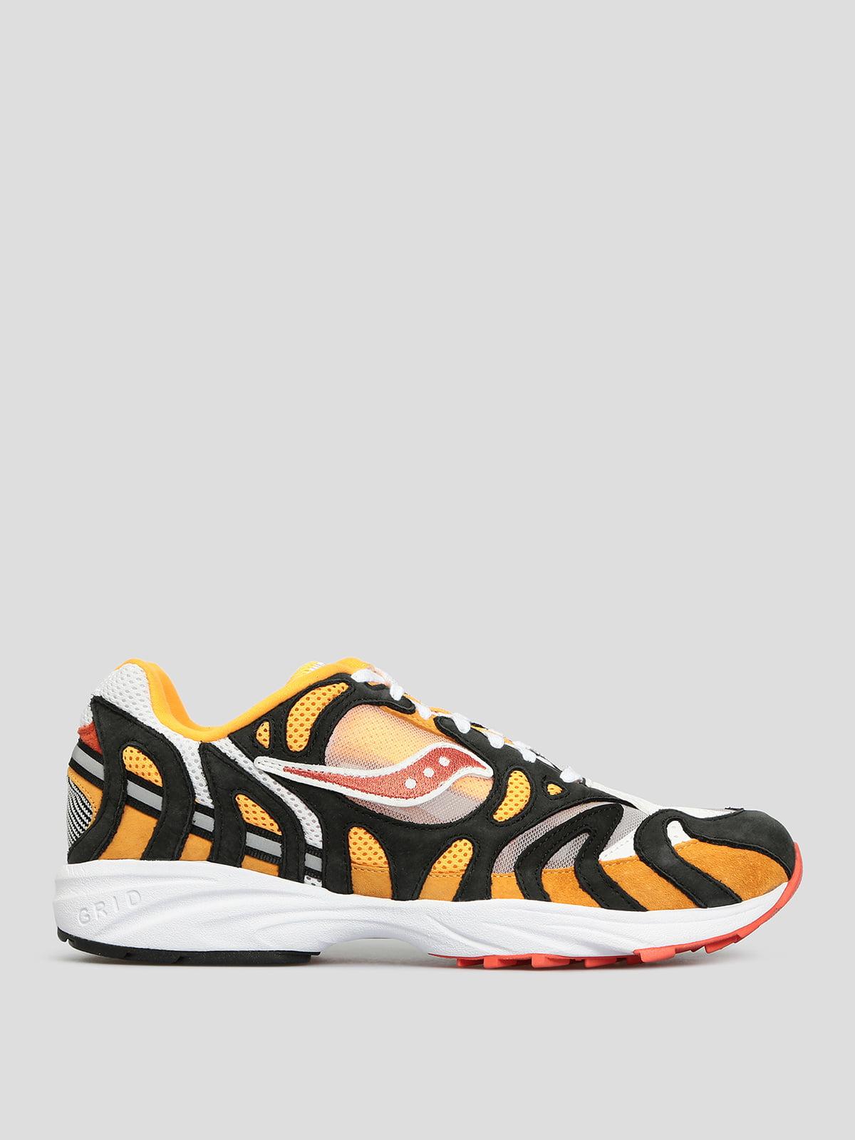 Кросівки різнокольорові з анімалістичним візерунком   5512467