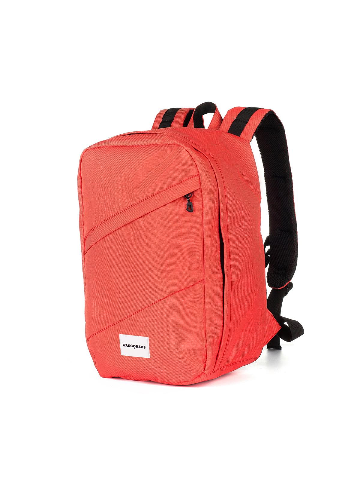 Рюкзак для ручної поклажі коралового кольору (40x20х25 см) | 5514194