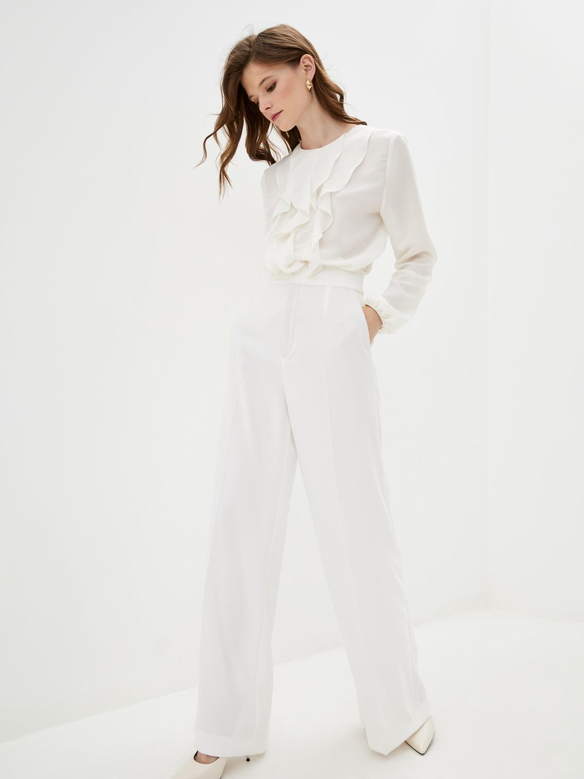 Блуза цвета сливочного крема   5514341