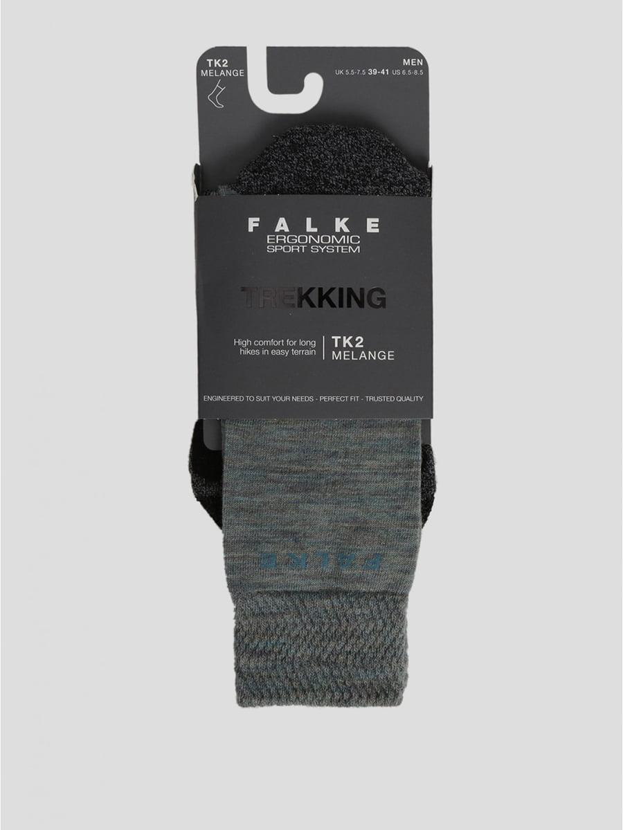 Шкарпетки спортивні сірі з логотипом | 5512787