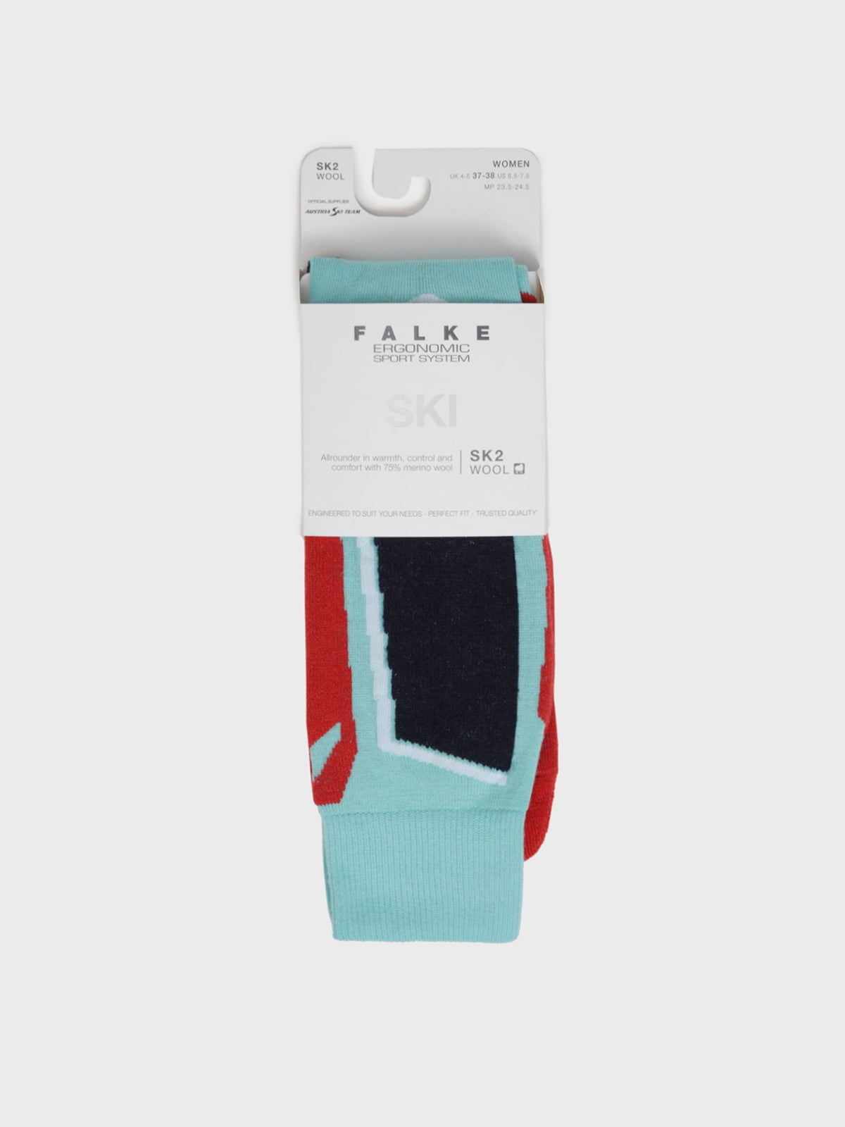 Носки лыжные разноцветные с логотипом   5512910