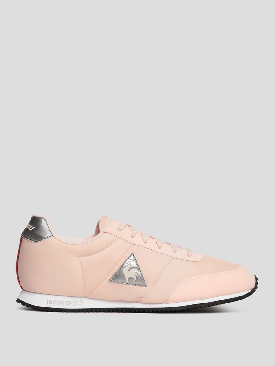 Кросівки рожеві з логотипом | 5512185