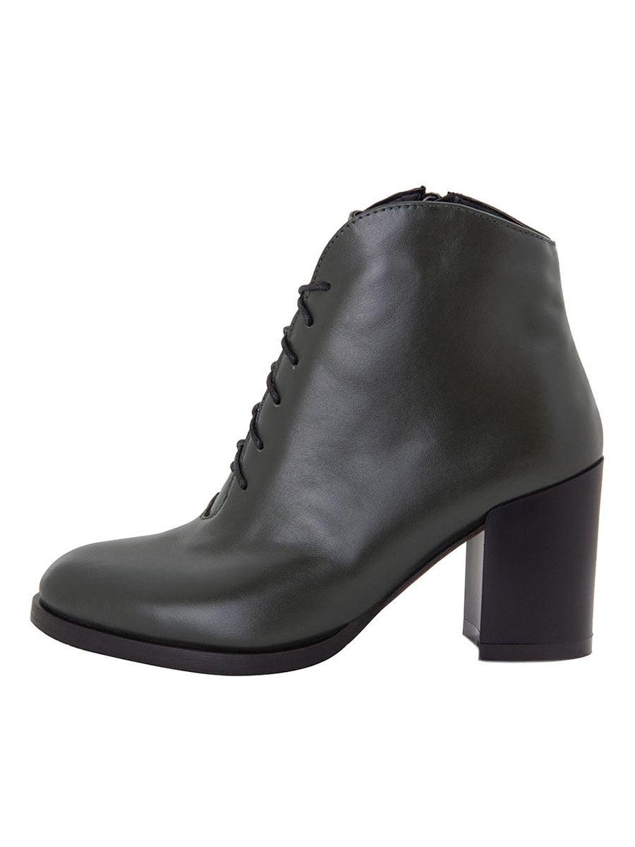 Ботинки темно-зеленые | 5516624