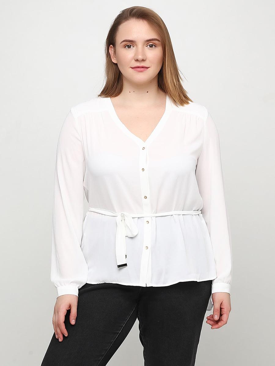 Блуза белая | 5505187