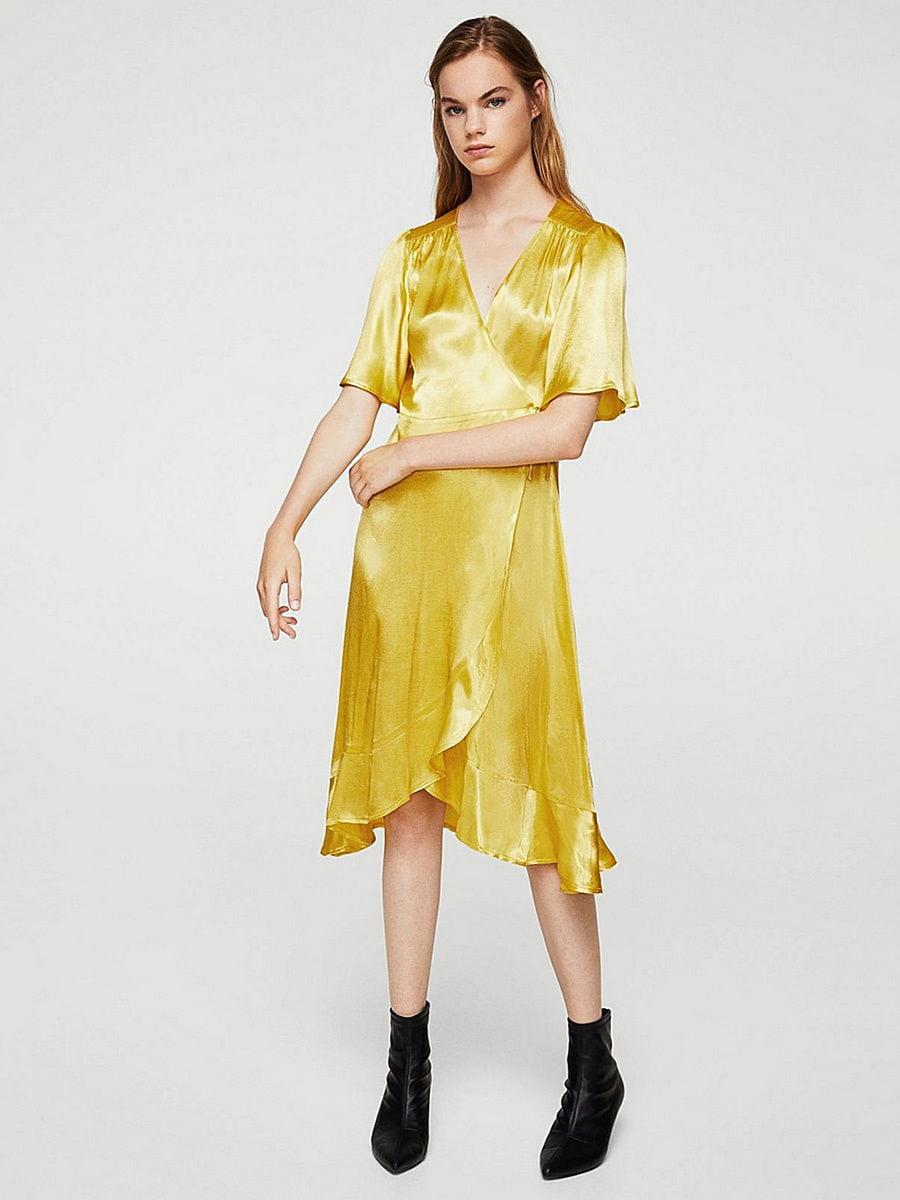 Платье желтое | 5517402