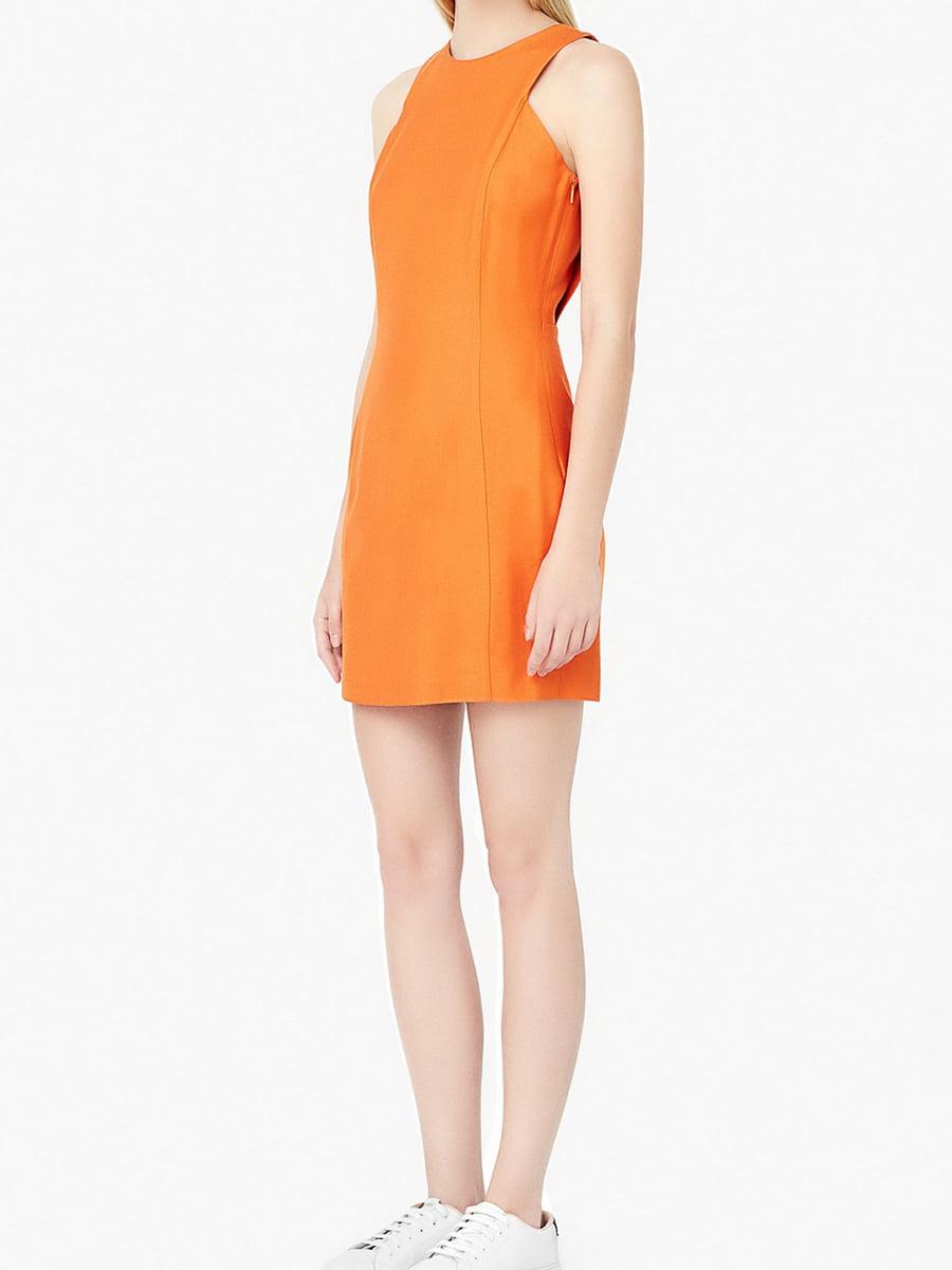 Платье оранжевое | 5517404