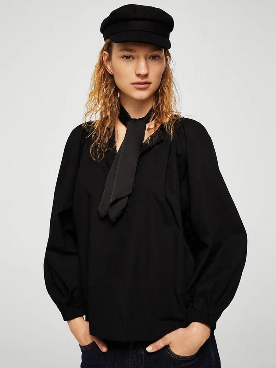 Блуза черная | 5517640