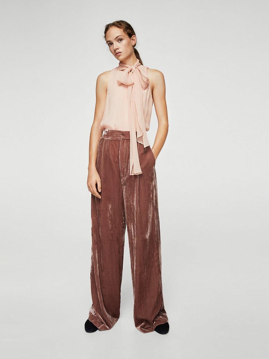 Блуза персикового цвета   5517658
