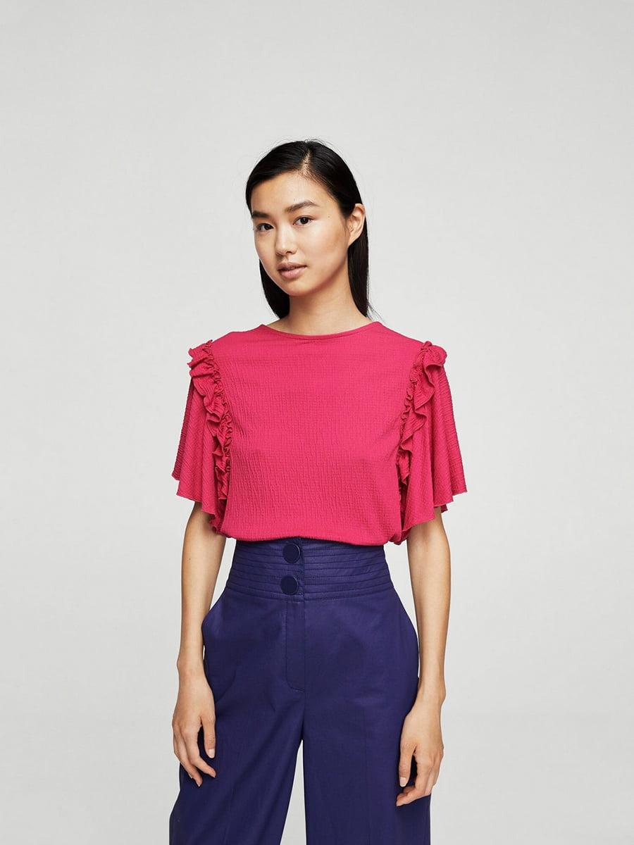 Блуза цвета фуксии | 5517662