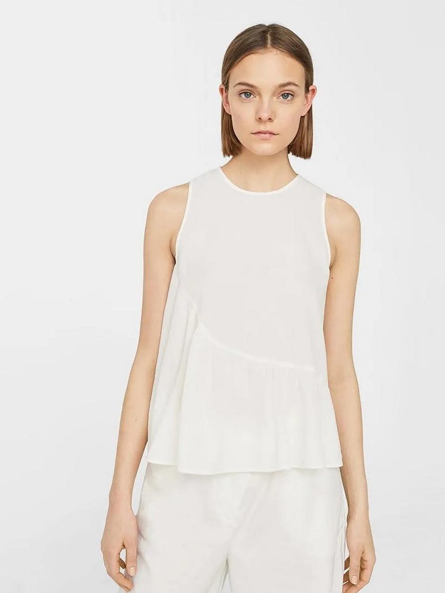 Блуза молочного цвета   5517745