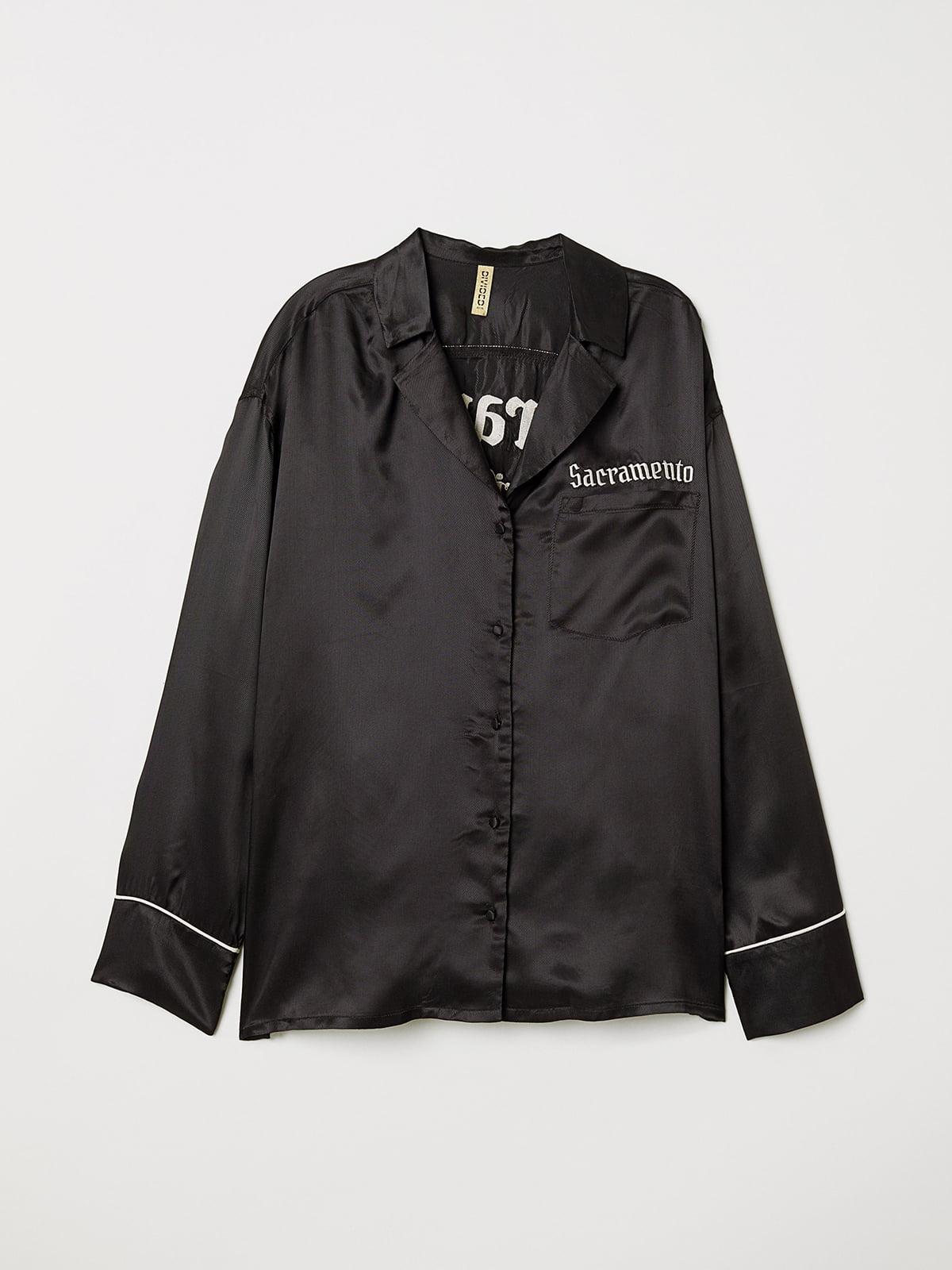 Рубашка черная | 5506200