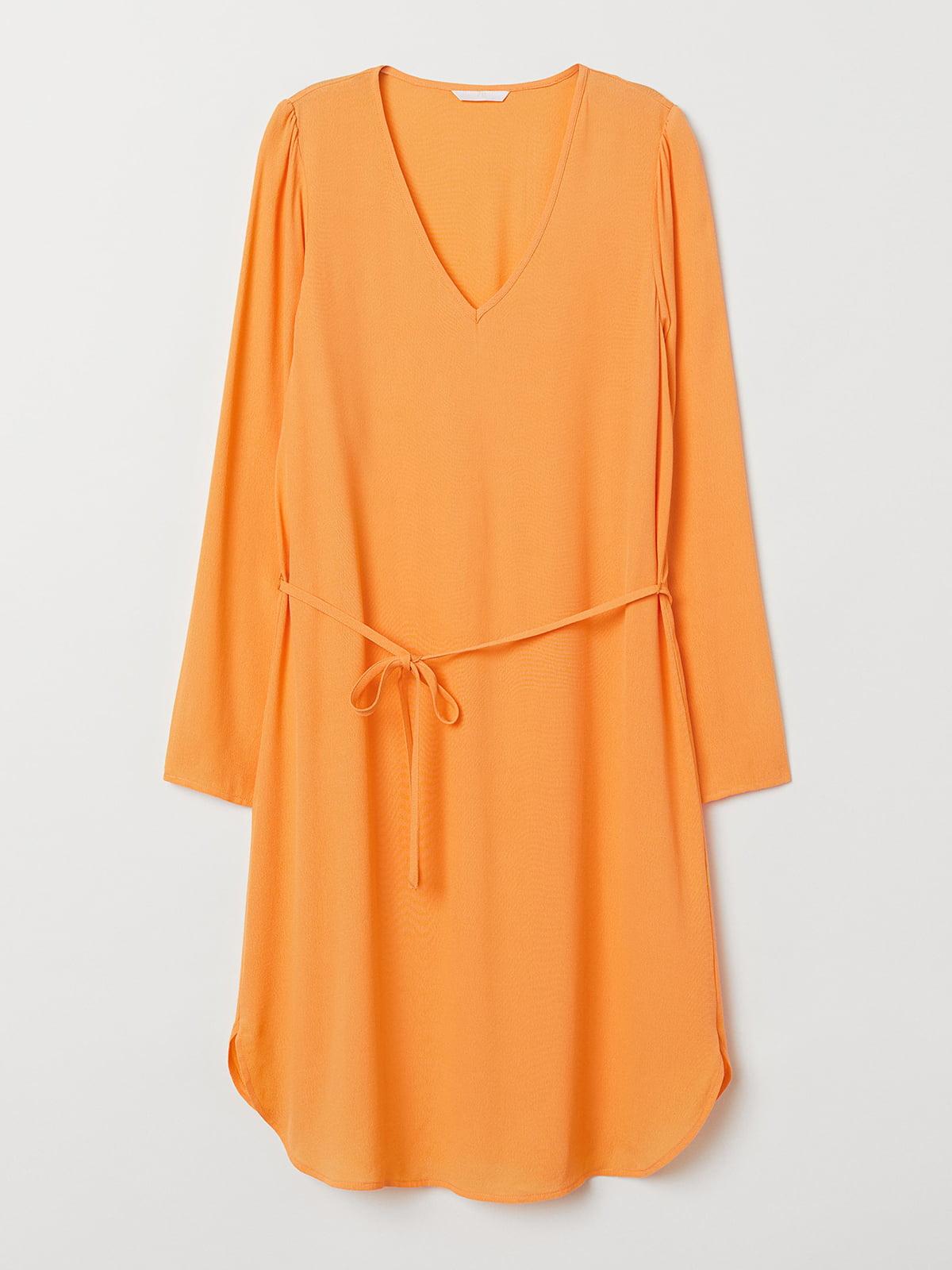 Платье желтое | 5506311