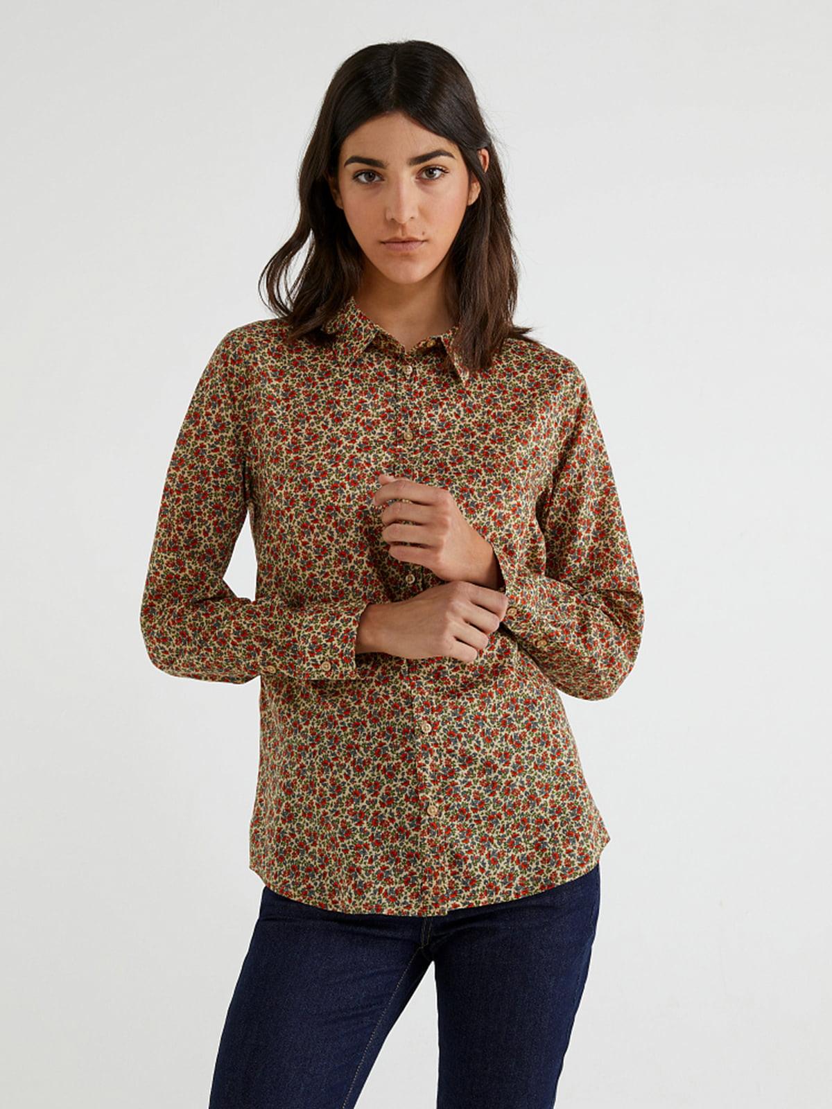 Рубашка в принт   5520916