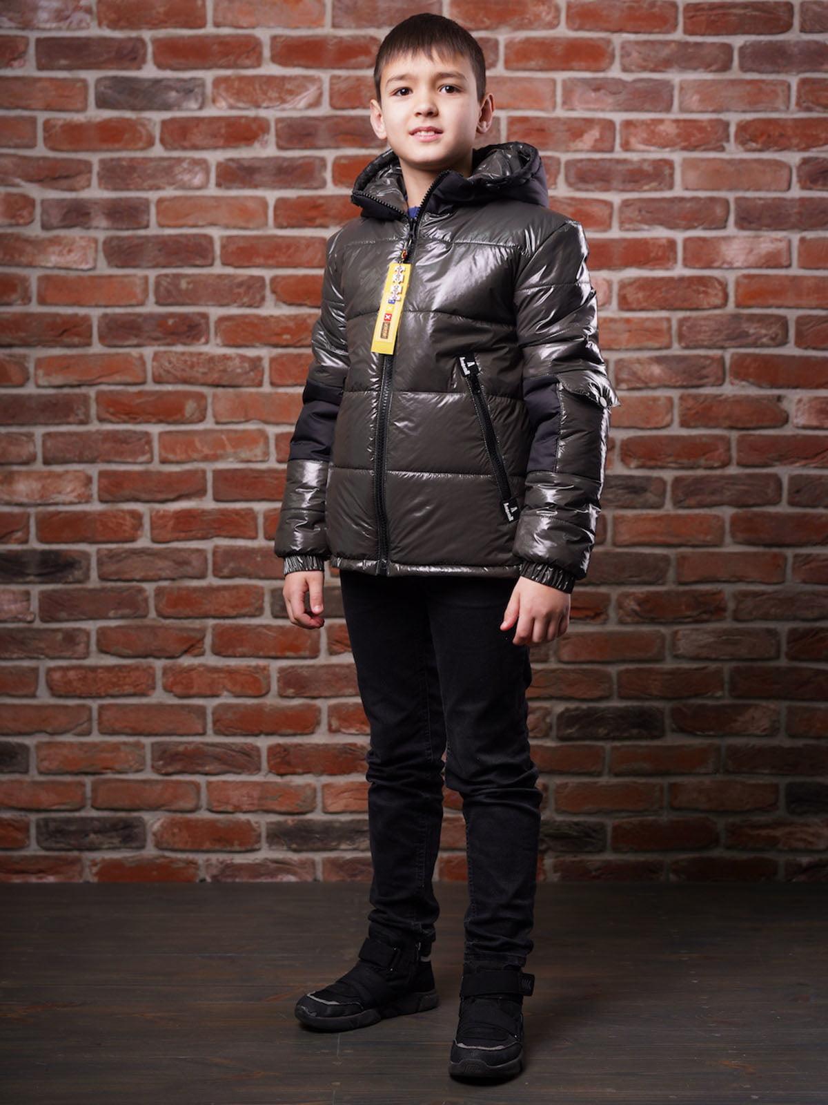 Куртка кольору хакі | 5523483