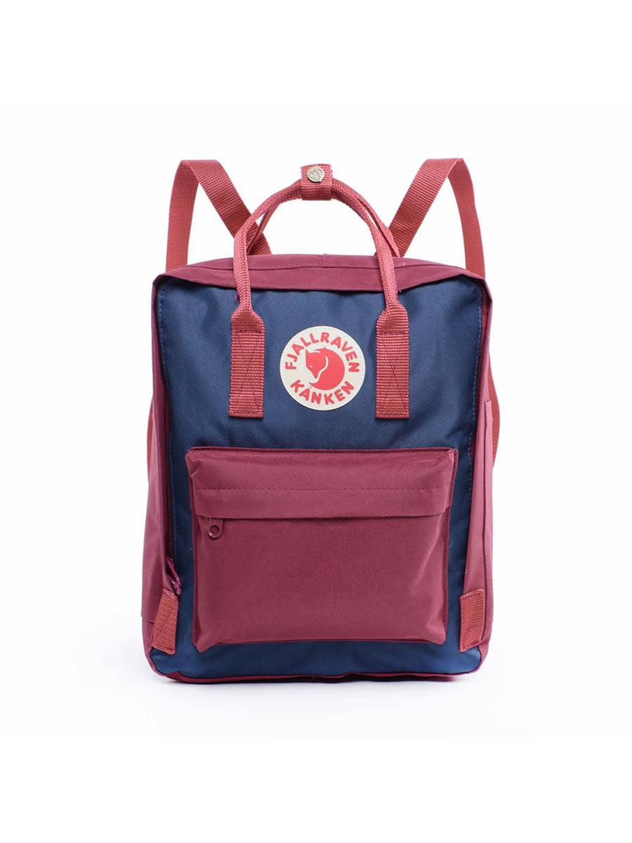 Рюкзак сине-бордовый | 5524319