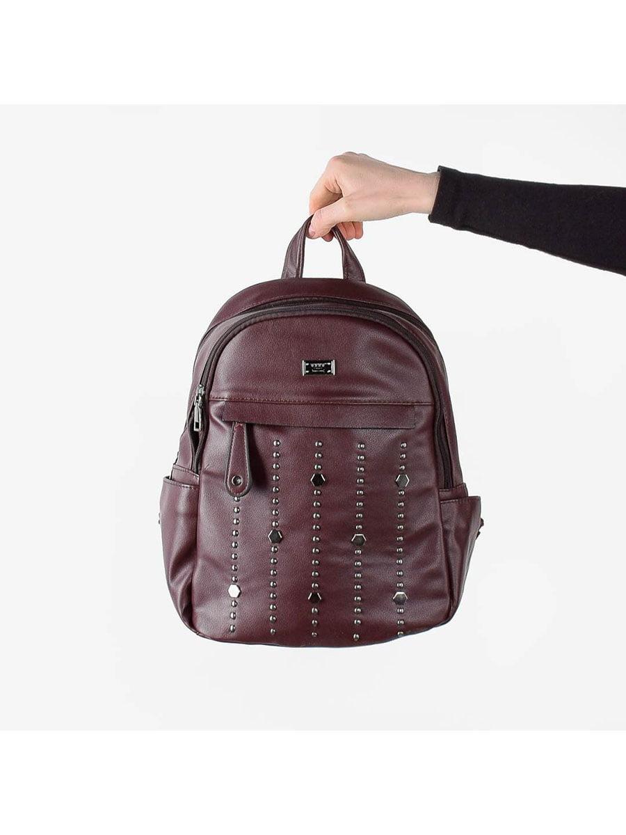 Рюкзак бордовий | 5524635