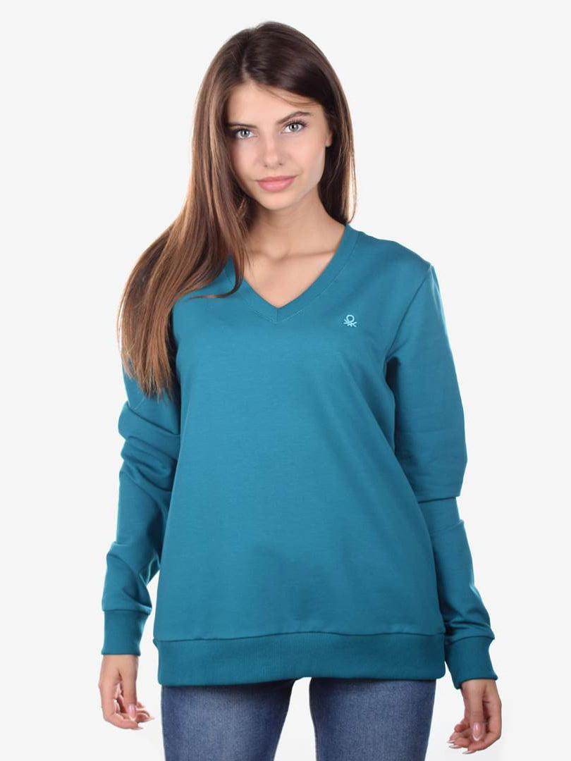 Пуловер бирюзовый | 5522339