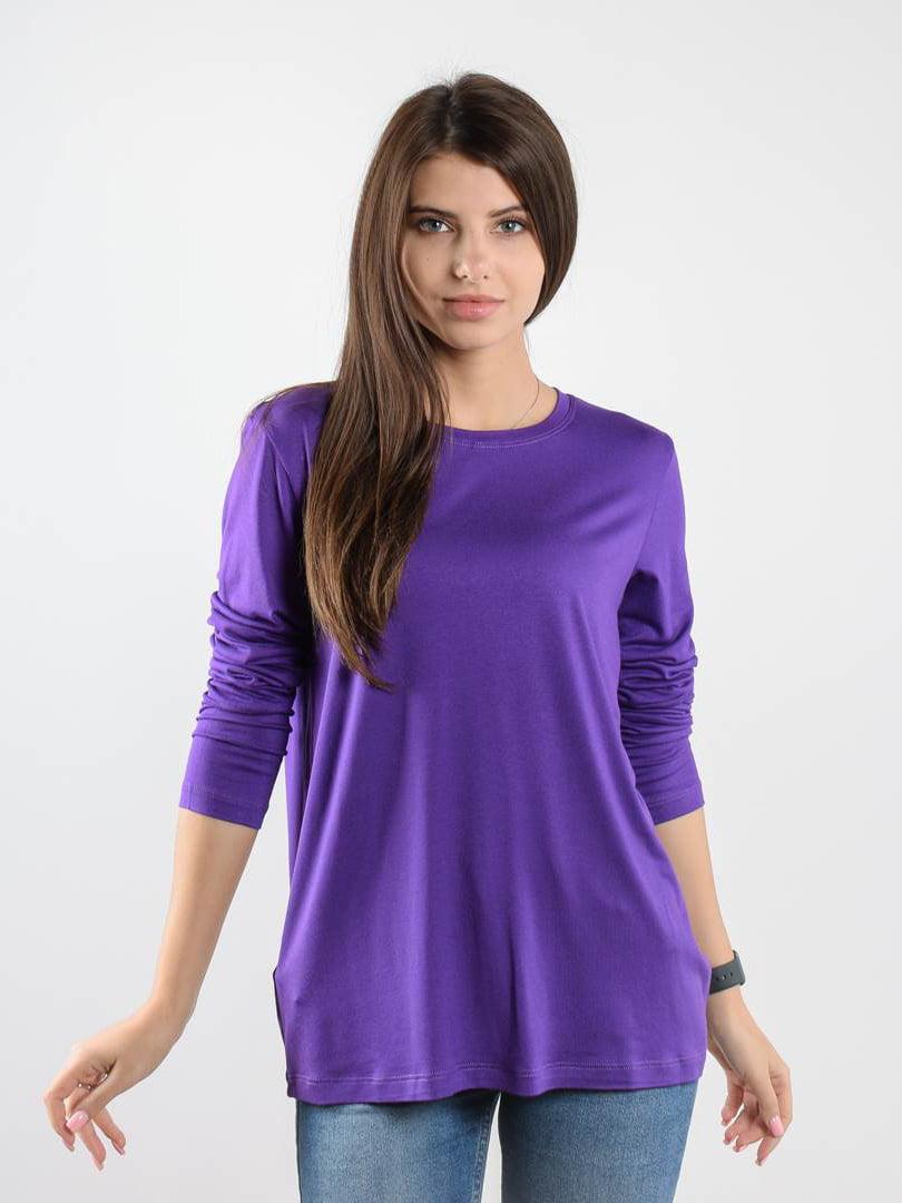 Лонгслив фиолетовый | 5522723